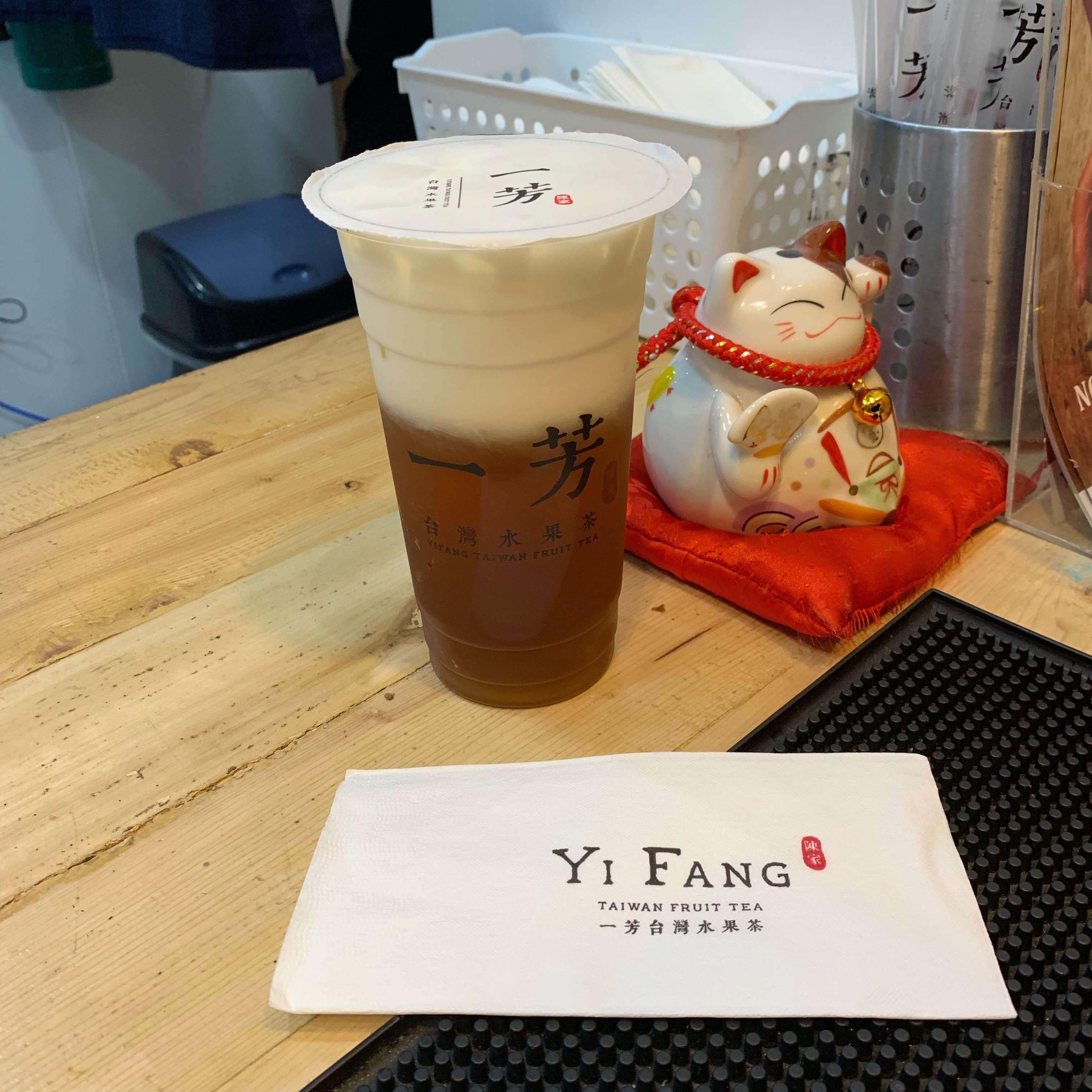 Yi fang milk tea