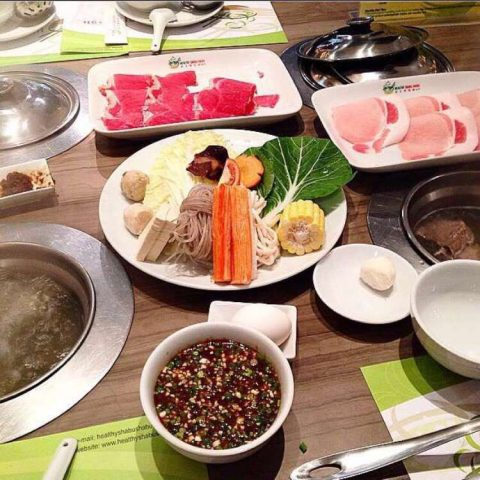 Healthy Shabu Shabu, The Podium