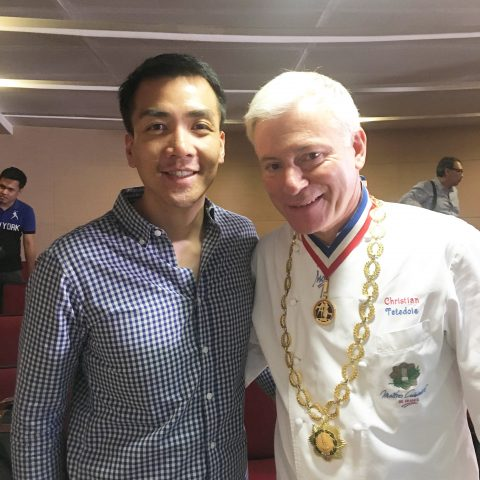 Chef Christian Tetedoie – CCA-Escoffier Launch