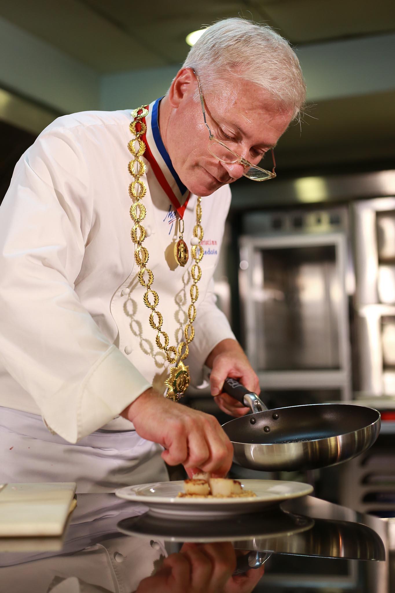 Chef Christian Tetedoie – CCA-Escoffier Launch   Filipino