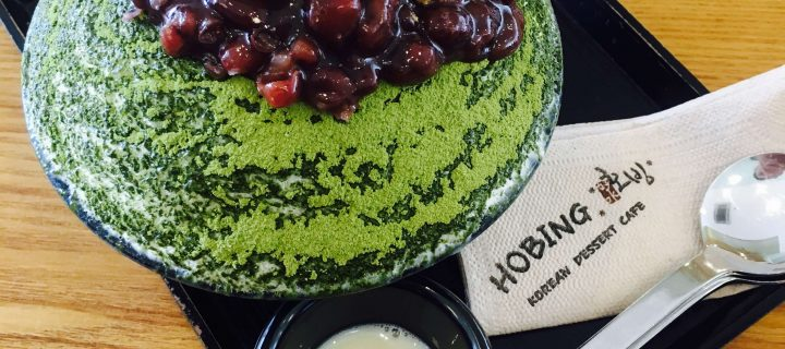 Hobing Korean Dessert Cafe, SM Megamall