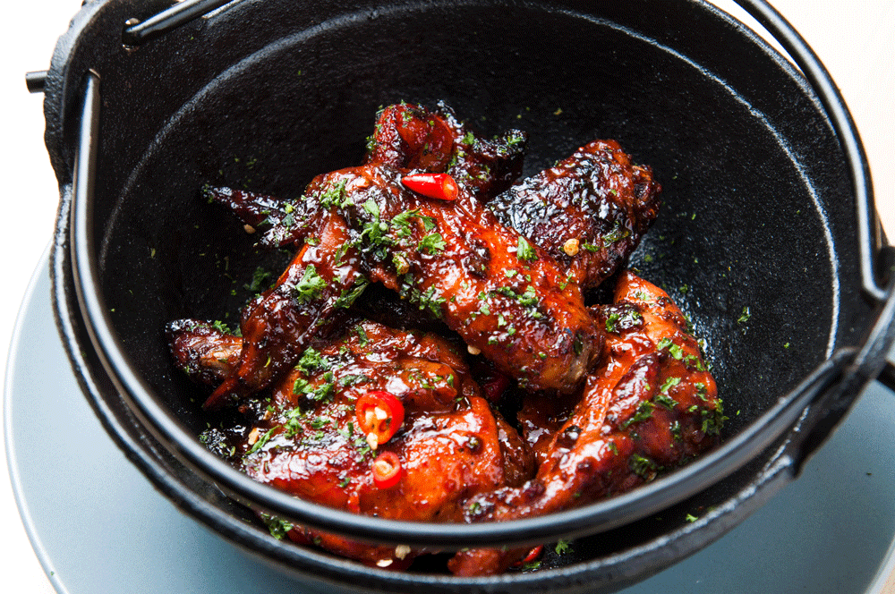 Alcoholic Barbecue Wings