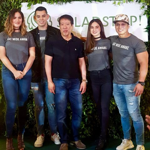 SaladStop! Eat Wide Awake Movement Media Launch