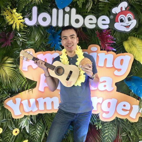 Jollibee's Aloha Yumburger
