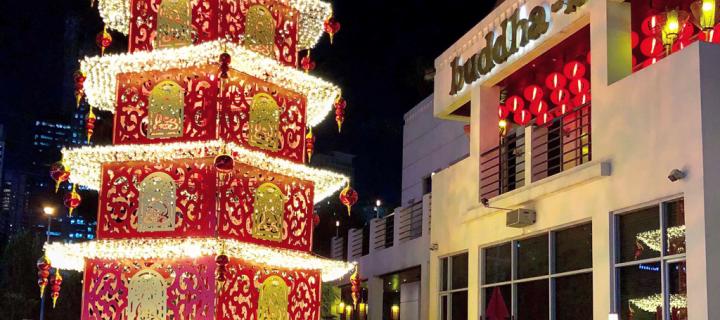 Buddha-Bar Christmas Tree Lighting