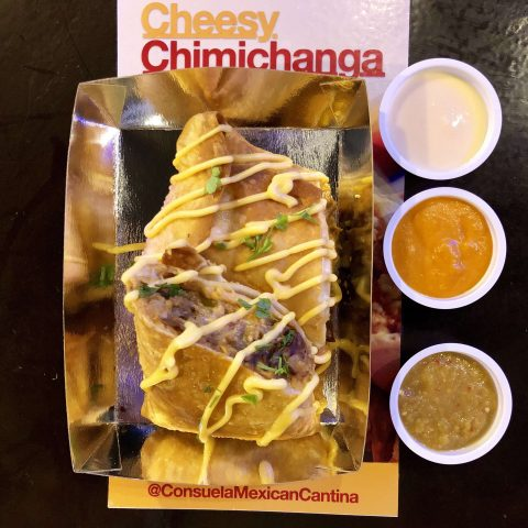 Cheesy Chimichanga, Tomas Morato