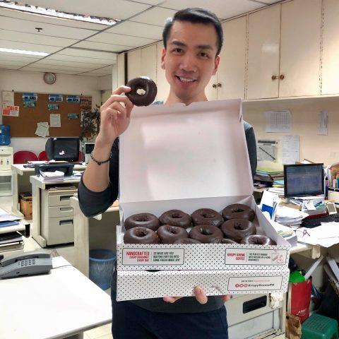 Krispy Kreme's New Chocolate Doughnut