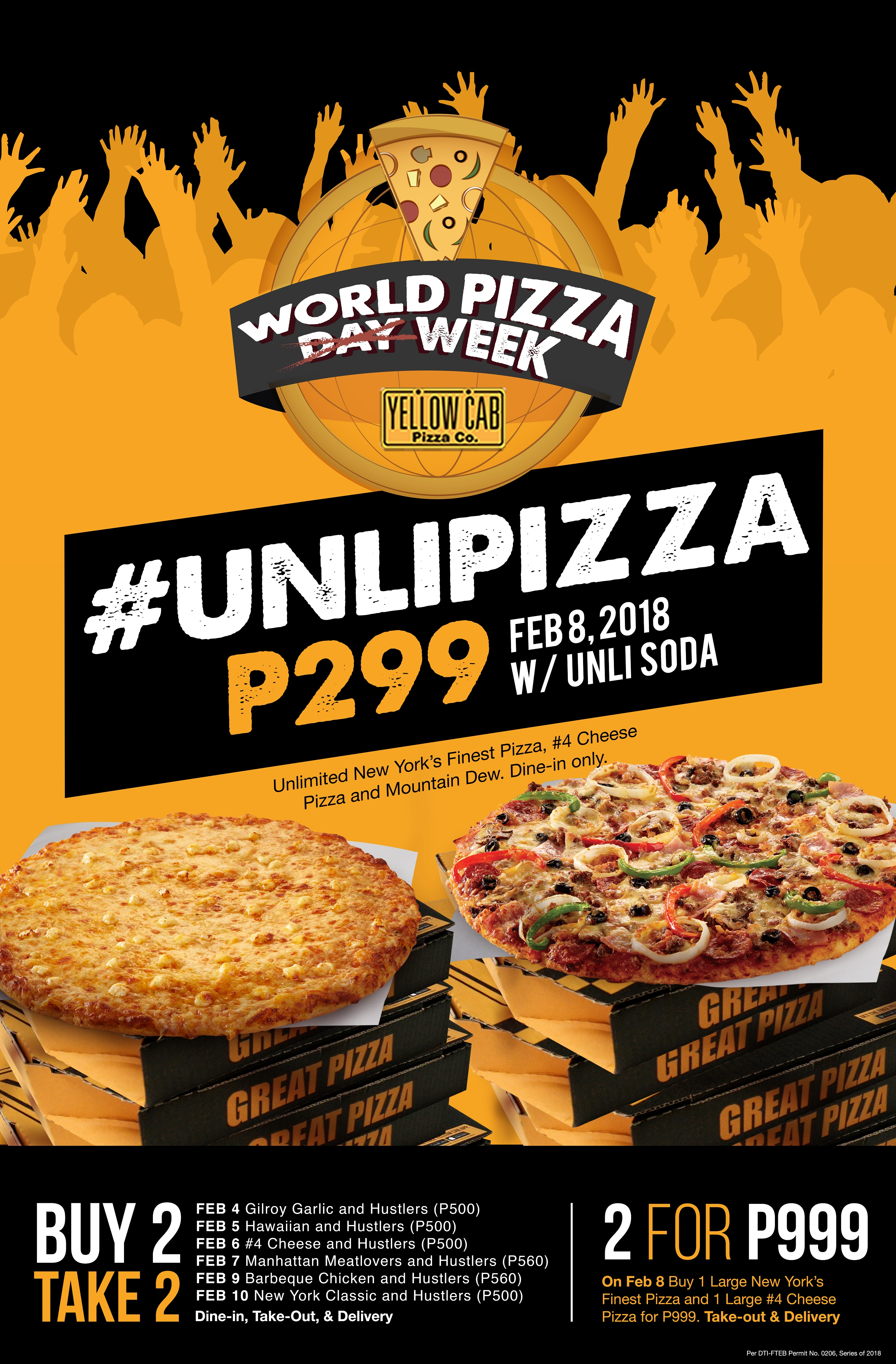 The Price Of Pizza Part 2 >> Yellow Cab is looking for the Hungriest Man in the PH   Filipino Food Blogger — Always Hungry PH