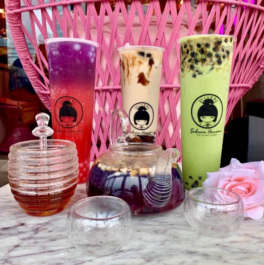 Sakura Hanami Milk Tea, Maginhawa, QC   Filipino Food Blogger ...